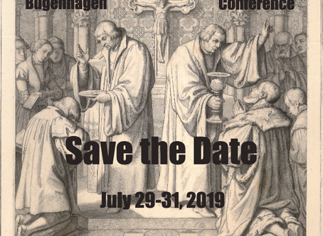 Bugenhagen Conference 2019: Save the Date!
