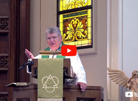 "2018 VIDEOS Sermon #2: ""Sinners, Examples, and Representatives"" -- President John Wille"