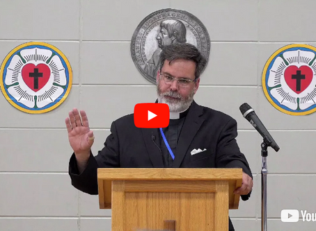 """2018 VIDEOS Keynote Address #1: """"The Pastor and His Vows"""" -- Pastor David Petersen"""
