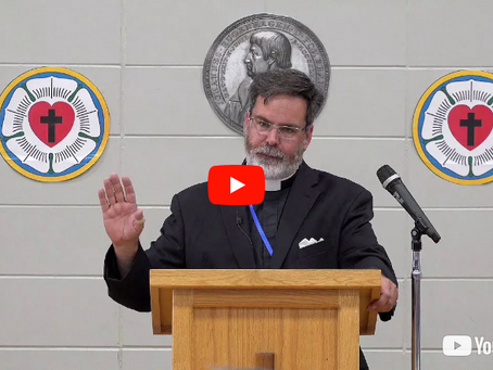 "2018 VIDEOS Keynote Address #1: ""The Pastor and His Vows"" -- Pastor David Petersen"