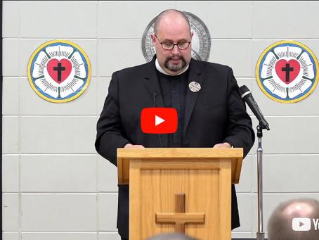 "2018 VIDEOS Keynote Address #3: ""Faithful Ministry -- Faithful Work"" -- Pastor Benjamin Ball"