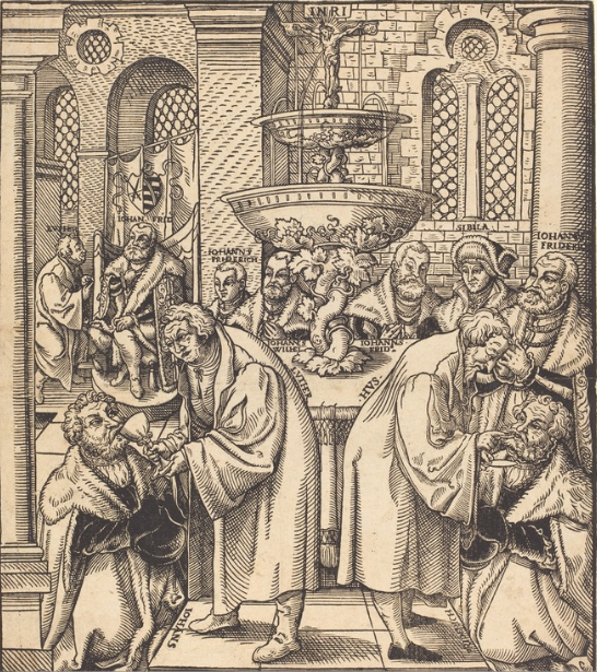 Luther and Hus