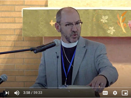 "2020 VIDEOS Keynote Address #1: ""Didactic Preaching"" -- Pastor Peter Bender"