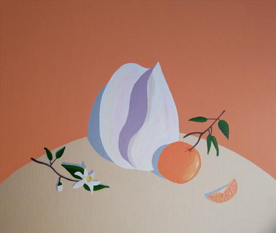 Orange & shell