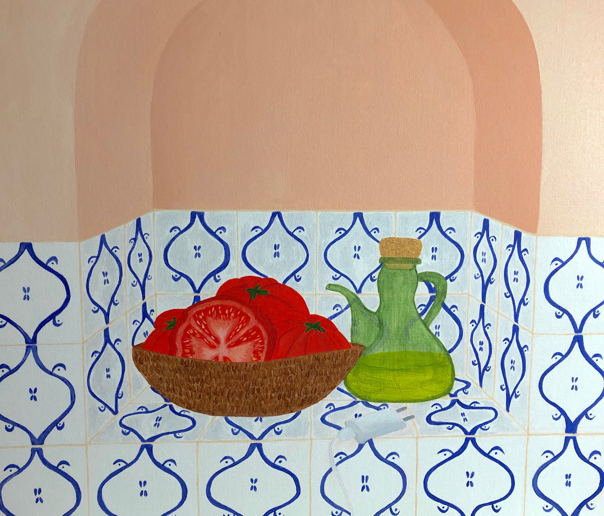 Tomatoes and tiles