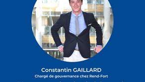 À la rencontre de Constantin Gaillard, chargé de gouvernance chez Rend-Fort