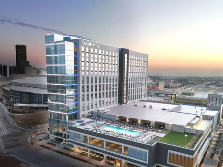 Omni hotel opens next to the new Oklahoma City Convention Center
