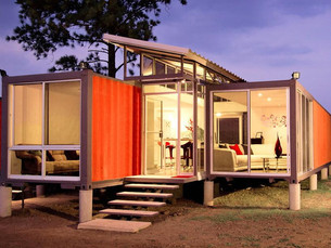 Really Thinking Outside the Box: Shipping Container Homes