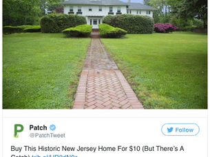 Hard to Beat: Historical Mansion with a $10 Asking Price