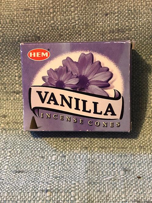 Vanilla Scented Incense Cones
