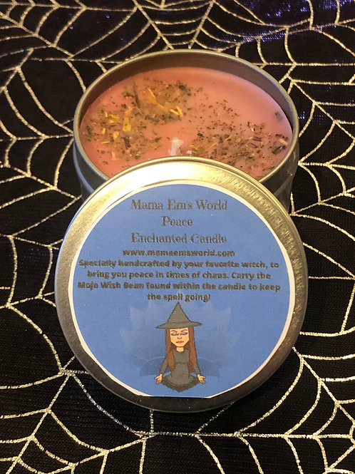 Mama Em's Enchanted Spell Candles - Peace