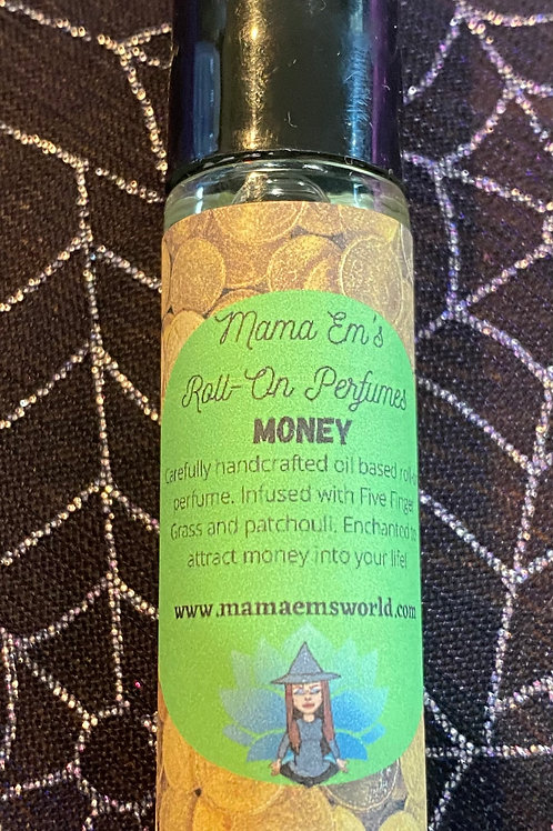 Mama Em's Money Drawing Roll-On Perfume