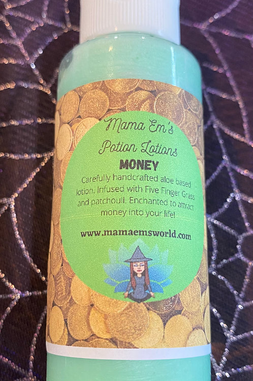 Mama Em's Money Drawing Potion Lotion