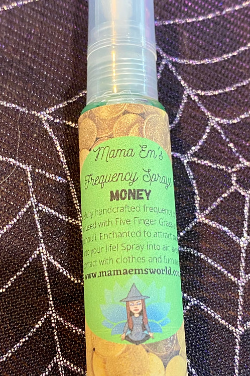 Mama Em's Money Drawing Frequency Spray - Travel Size