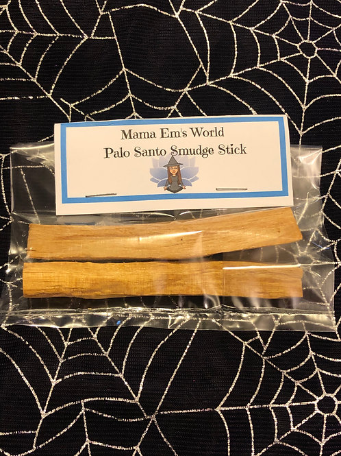 2 Pieces of Palo Santo Smudge Sticks