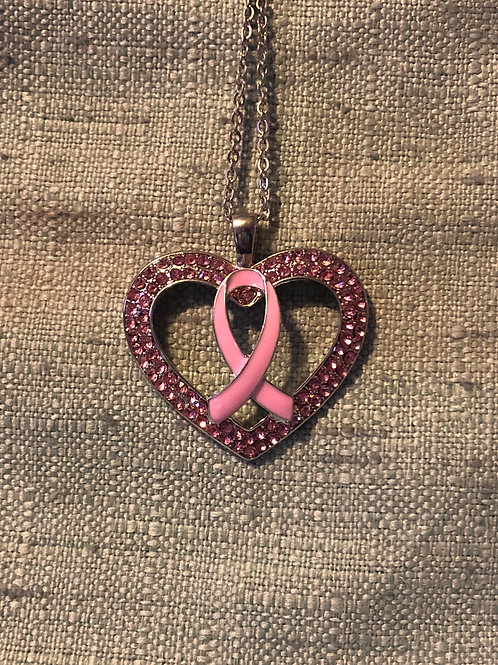 Breast Cancer Awareness Pendant/Keychain