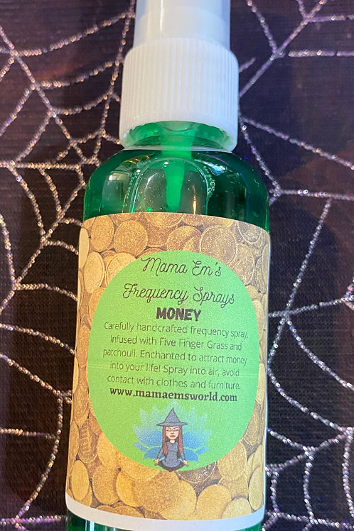 Mama Em's Money Drawing Frequency Spray