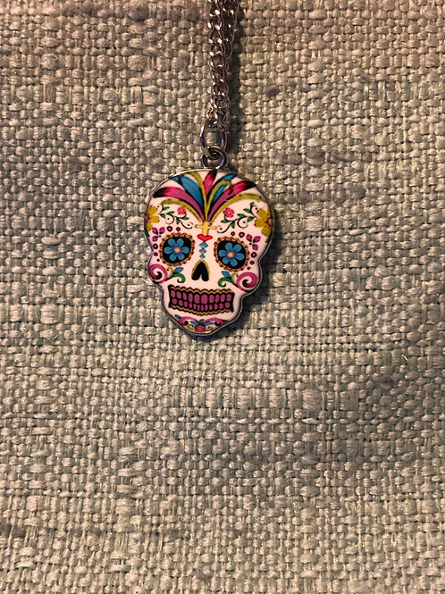 Day of the Dead Skull Charm