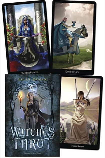 Witches Tarot - by Ellen Dugan