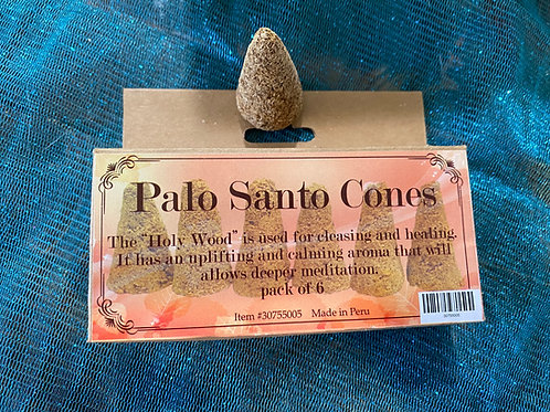 Palo Santo Oversized Incense Cones