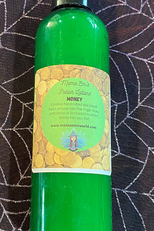 Mama Em's Money Drawing Potion Lotion - XL Size