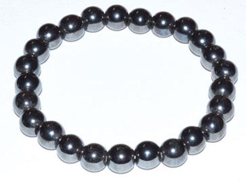 Hematite Bracelet for Grounding