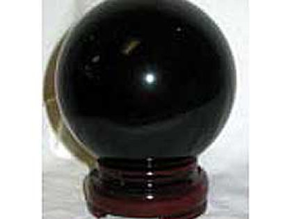 50mm Black Gazing Crystal Ball