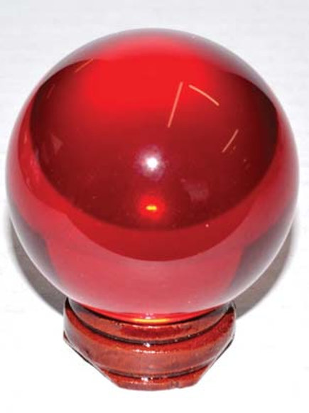 50mm Red Gazing Crystal Ball