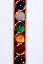 Copper 7 Chakra Healing Wand