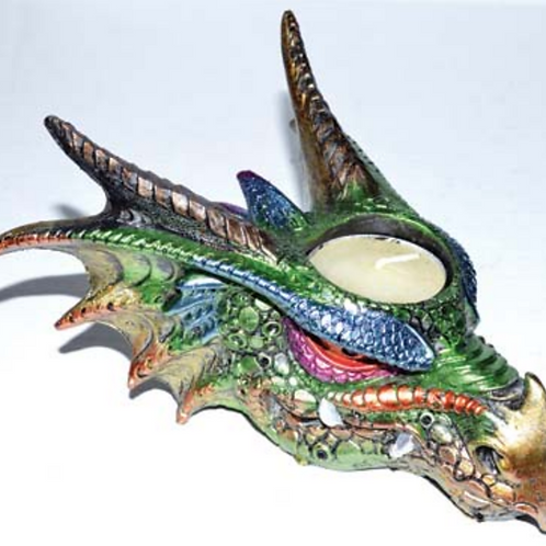 Dragon Tealight Candle Holder