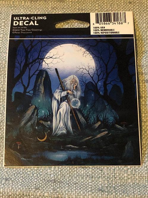 Moonlight Wizard Vinyl Decal