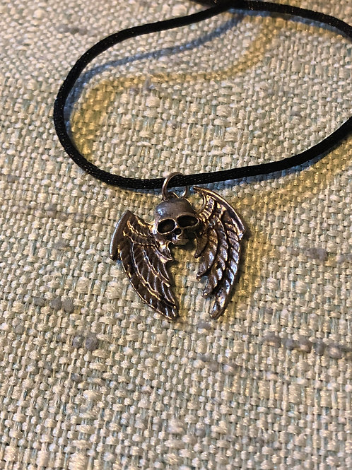 Winged Skull Amulet