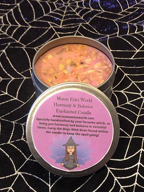 Mama Em's Enchanted Spell Candles - Harmony & Balance
