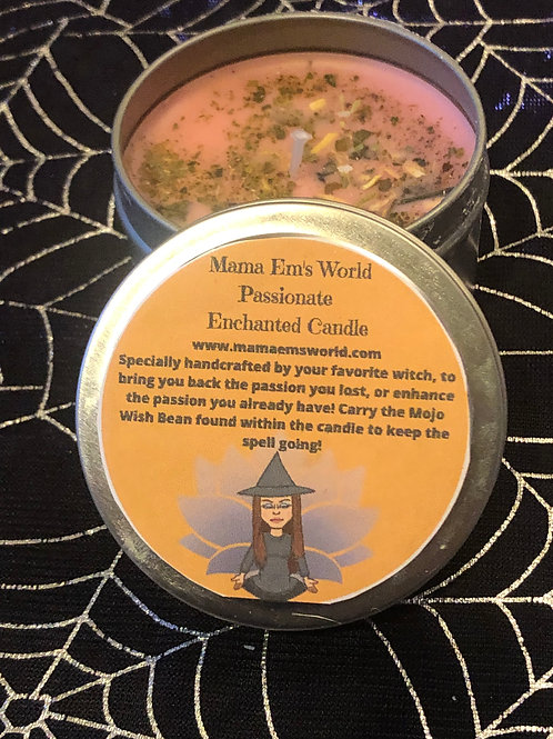 Mama Em's Enchanted Spell Candles - Passion