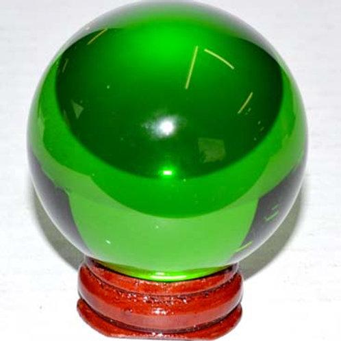 50mm Green Gazing Crystal Ball