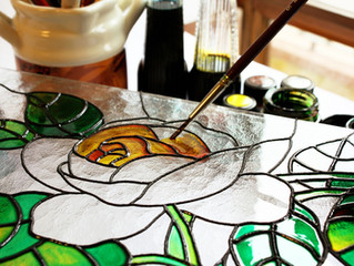 Beautiful ideas for painting stained glass