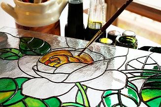 Pintura del vitral