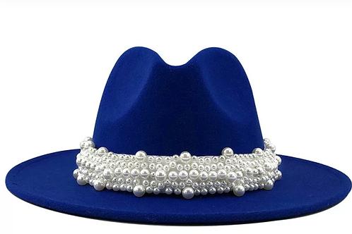 Pearls Please Fedora Hat