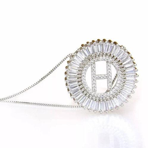 Queen ME Initial Necklace