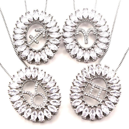 Zodiac SHE Necklace - SILVER