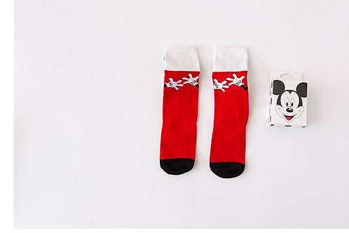 Girl Code Mickey Socks