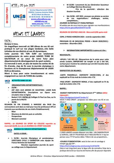 News et Landes n°33