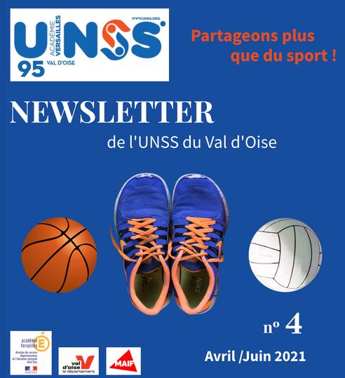 UNSS Val d'Oise Juin Juillet 2021