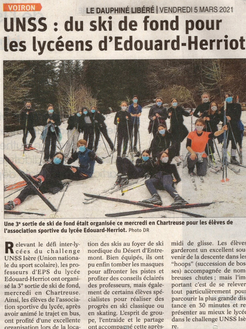 Article JR dans le Dauphiné