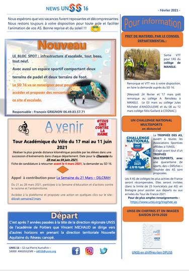News UNSS 16