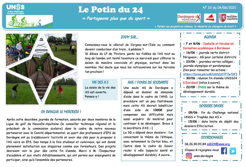 Potin UNSS 24 n°32
