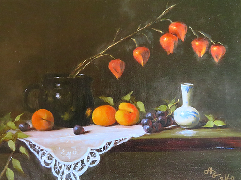 "Art: ""Apricots & Lanterns"""
