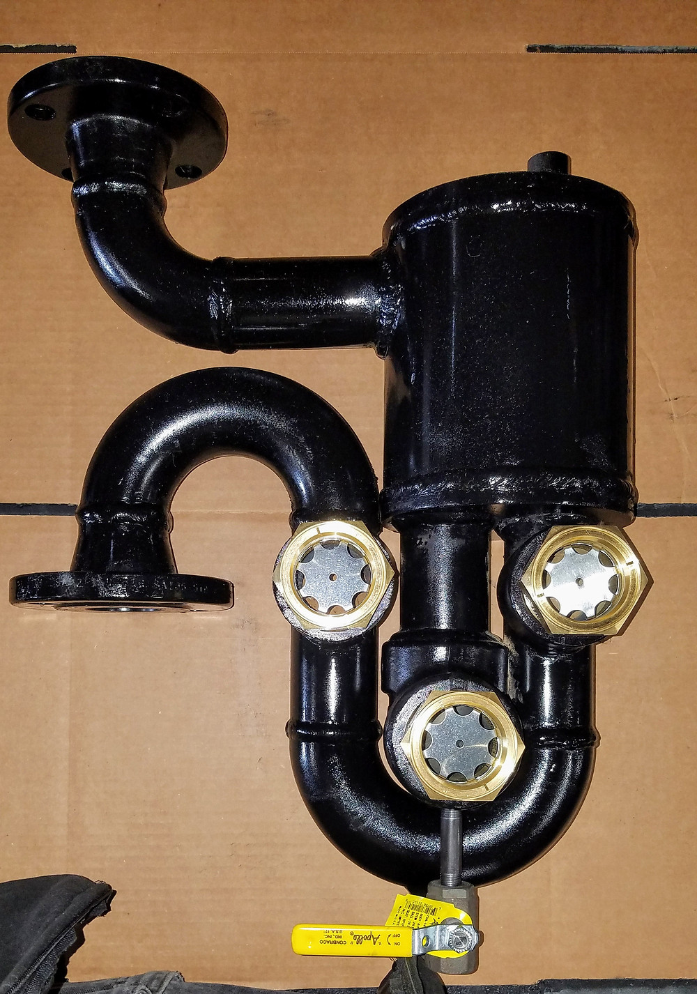 Vent Loop Gas Scrubber