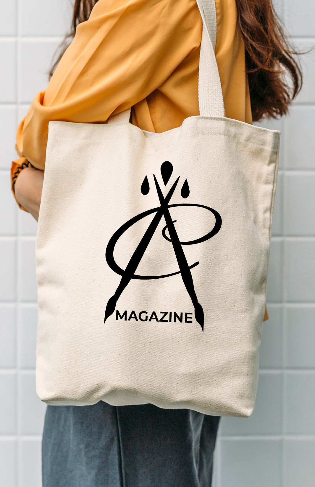 New Canvas Tote Bag- Natural