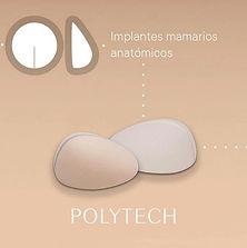 Implantes mamrios anatomicos